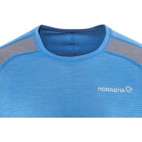 Norrøna Bitihorn Wool Shirt Herr hot sapphire